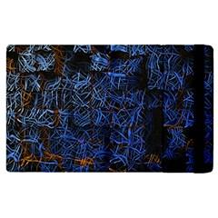 Background Abstract Art Pattern Apple Ipad 2 Flip Case