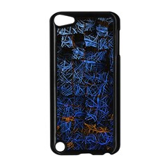 Background Abstract Art Pattern Apple iPod Touch 5 Case (Black)