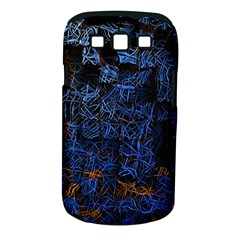 Background Abstract Art Pattern Samsung Galaxy S Iii Classic Hardshell Case (pc+silicone)