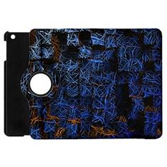 Background Abstract Art Pattern Apple Ipad Mini Flip 360 Case