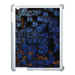 Background Abstract Art Pattern Apple iPad 3/4 Case (White)