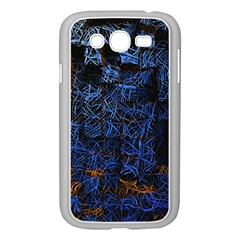 Background Abstract Art Pattern Samsung Galaxy Grand DUOS I9082 Case (White)