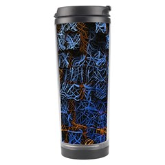 Background Abstract Art Pattern Travel Tumbler