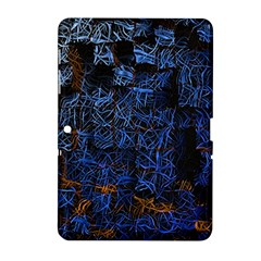 Background Abstract Art Pattern Samsung Galaxy Tab 2 (10 1 ) P5100 Hardshell Case