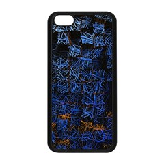 Background Abstract Art Pattern Apple iPhone 5C Seamless Case (Black)