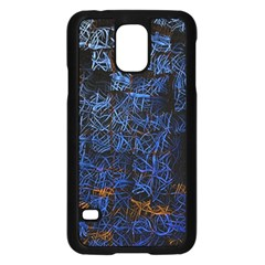 Background Abstract Art Pattern Samsung Galaxy S5 Case (black)