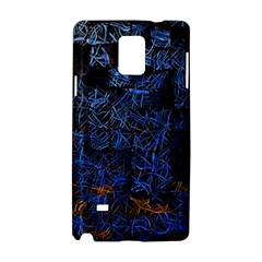 Background Abstract Art Pattern Samsung Galaxy Note 4 Hardshell Case