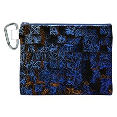 Background Abstract Art Pattern Canvas Cosmetic Bag (xxl)
