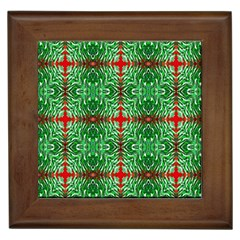 Geometric Seamless Pattern Digital Computer Graphic Framed Tiles