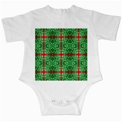 Geometric Seamless Pattern Digital Computer Graphic Infant Creepers