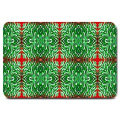 Geometric Seamless Pattern Digital Computer Graphic Large Doormat