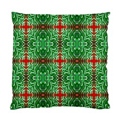 Geometric Seamless Pattern Digital Computer Graphic Standard Cushion Case (One Side)