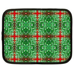 Geometric Seamless Pattern Digital Computer Graphic Netbook Case (XXL)