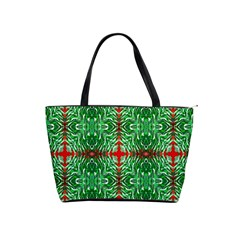 Geometric Seamless Pattern Digital Computer Graphic Shoulder Handbags