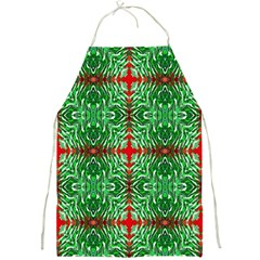 Geometric Seamless Pattern Digital Computer Graphic Full Print Aprons