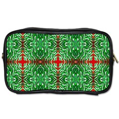 Geometric Seamless Pattern Digital Computer Graphic Toiletries Bags 2-Side