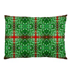 Geometric Seamless Pattern Digital Computer Graphic Pillow Case (Two Sides)