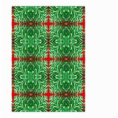 Geometric Seamless Pattern Digital Computer Graphic Small Garden Flag (Two Sides)