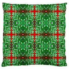 Geometric Seamless Pattern Digital Computer Graphic Large Cushion Case (two Sides)