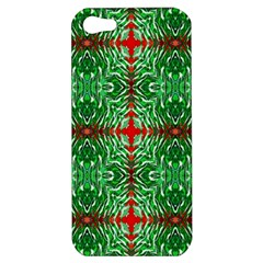 Geometric Seamless Pattern Digital Computer Graphic Apple iPhone 5 Hardshell Case