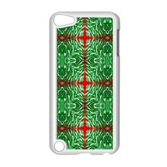 Geometric Seamless Pattern Digital Computer Graphic Apple Ipod Touch 5 Case (white)