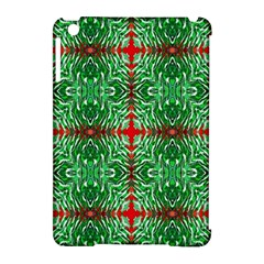 Geometric Seamless Pattern Digital Computer Graphic Apple iPad Mini Hardshell Case (Compatible with Smart Cover)