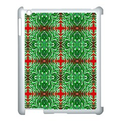 Geometric Seamless Pattern Digital Computer Graphic Apple Ipad 3/4 Case (white)