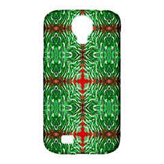 Geometric Seamless Pattern Digital Computer Graphic Samsung Galaxy S4 Classic Hardshell Case (PC+Silicone)
