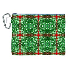 Geometric Seamless Pattern Digital Computer Graphic Canvas Cosmetic Bag (XXL)