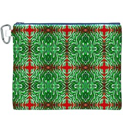 Geometric Seamless Pattern Digital Computer Graphic Canvas Cosmetic Bag (xxxl)