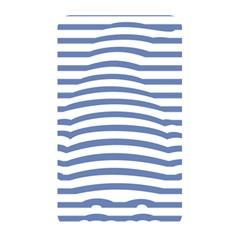 Animals Illusion Penguin Line Blue White Memory Card Reader