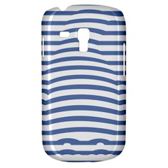 Animals Illusion Penguin Line Blue White Galaxy S3 Mini