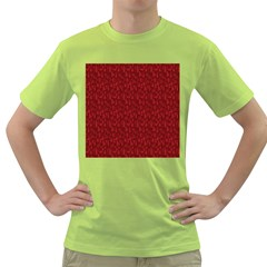 Bicycle Guitar Casual Car Red Green T-Shirt