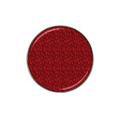 Bicycle Guitar Casual Car Red Hat Clip Ball Marker (4 pack)