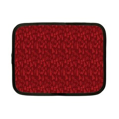 Bicycle Guitar Casual Car Red Netbook Case (Small)