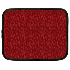 Bicycle Guitar Casual Car Red Netbook Case (XL)