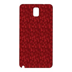 Bicycle Guitar Casual Car Red Samsung Galaxy Note 3 N9005 Hardshell Back Case
