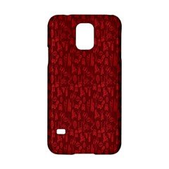 Bicycle Guitar Casual Car Red Samsung Galaxy S5 Hardshell Case