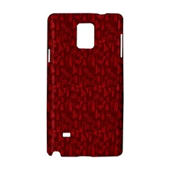 Bicycle Guitar Casual Car Red Samsung Galaxy Note 4 Hardshell Case