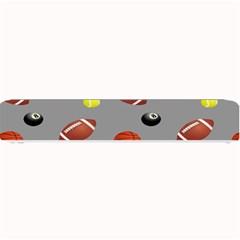Balltiled Grey Ball Tennis Football Basketball Billiards Small Bar Mats