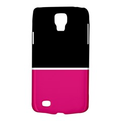 Black Pink Line White Galaxy S4 Active