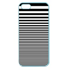Black White Line Apple Seamless iPhone 5 Case (Color)