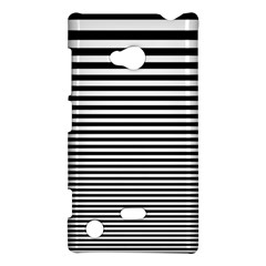 Black White Line Nokia Lumia 720