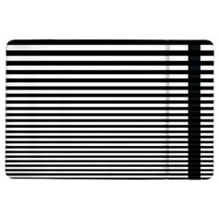 Black White Line iPad Air 2 Flip
