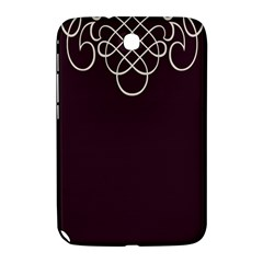 Black Cherry Scrolls Purple Samsung Galaxy Note 8.0 N5100 Hardshell Case