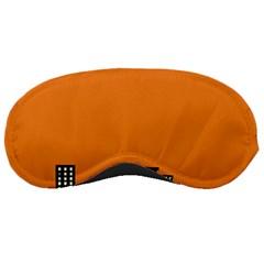 City Building Orange Sleeping Masks
