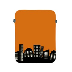 City Building Orange Apple iPad 2/3/4 Protective Soft Cases