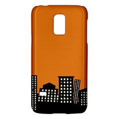 City Building Orange Galaxy S5 Mini