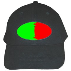 Critical Points Line Circle Red Green Black Cap