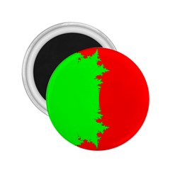Critical Points Line Circle Red Green 2.25  Magnets